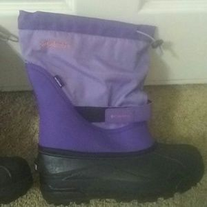 Columbia girls size 6 waterproof new winter boots